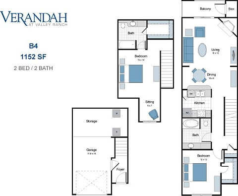 The Verandah at Valley Ranch - Apartments for rent