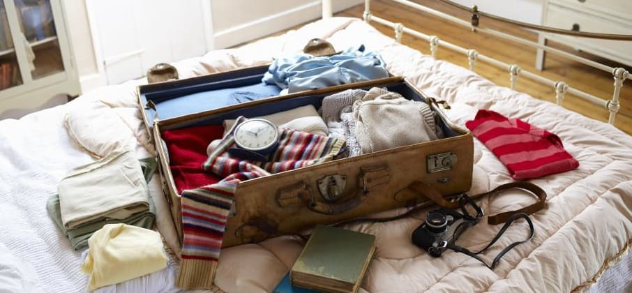 Faire sa valise pour son séjour linguistique
