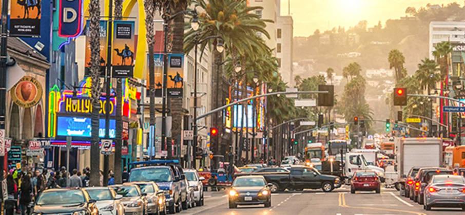 La Californie, concentré du rêve américain : Los Angeles et Hollywood