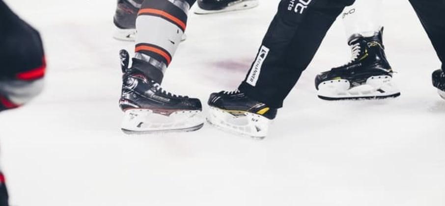 Un match de hockey