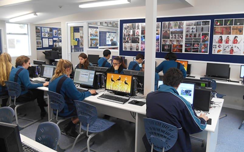 En classe avec les Néo-Zélandais