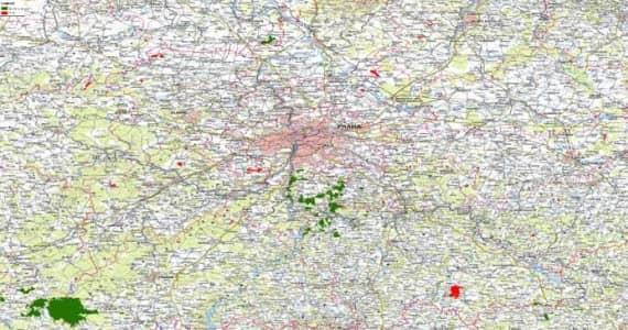 Mapa-praha