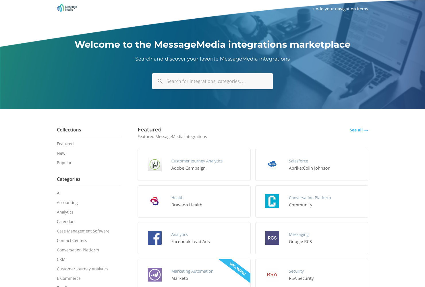 The MessageMedia ecosystem