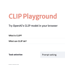 CLIP Playground