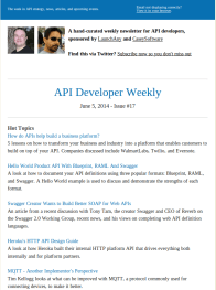 API Developer Weekly