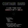 Centaur Bard