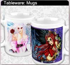 fairy coffee mugs, fairy art mugs, drinkware, fairy home decor, fairy, fairy art, fantasy art, fairies, fairy images, fairy gifts