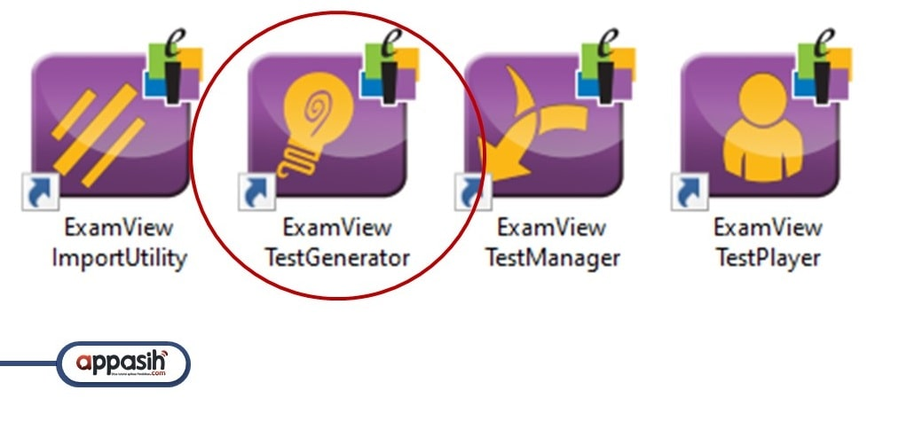 tutorial examview test generator lengkap