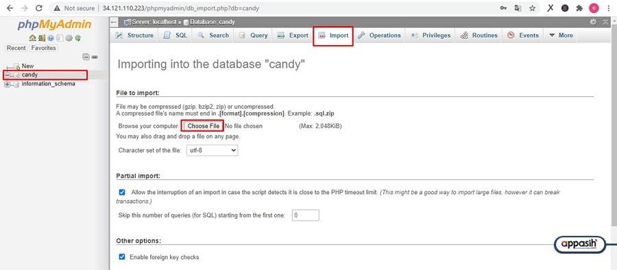 install candy cbt di vps