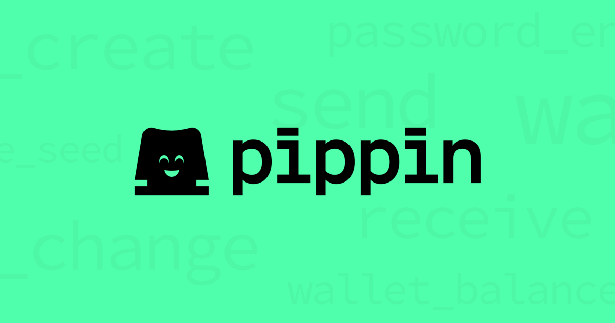 Pippin is a High Performance, Production-Ready Developer Wallet for Nano and BANANO