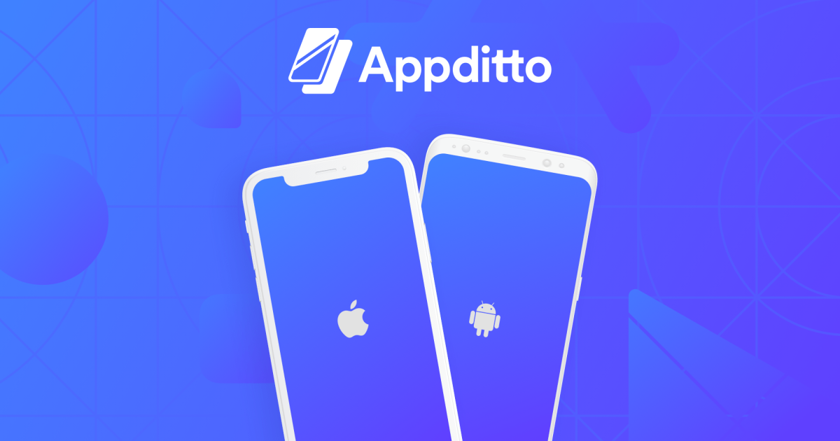 Don't forget to follow Appditto on social media