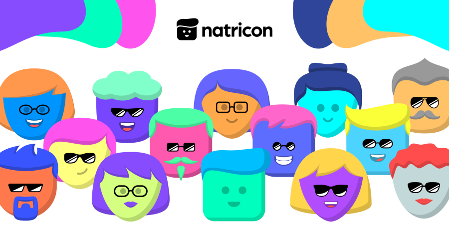 Meet Natricon - A Friendly, Familiar Face for Your Nano Address. Available on Natrium & NanoCrawler