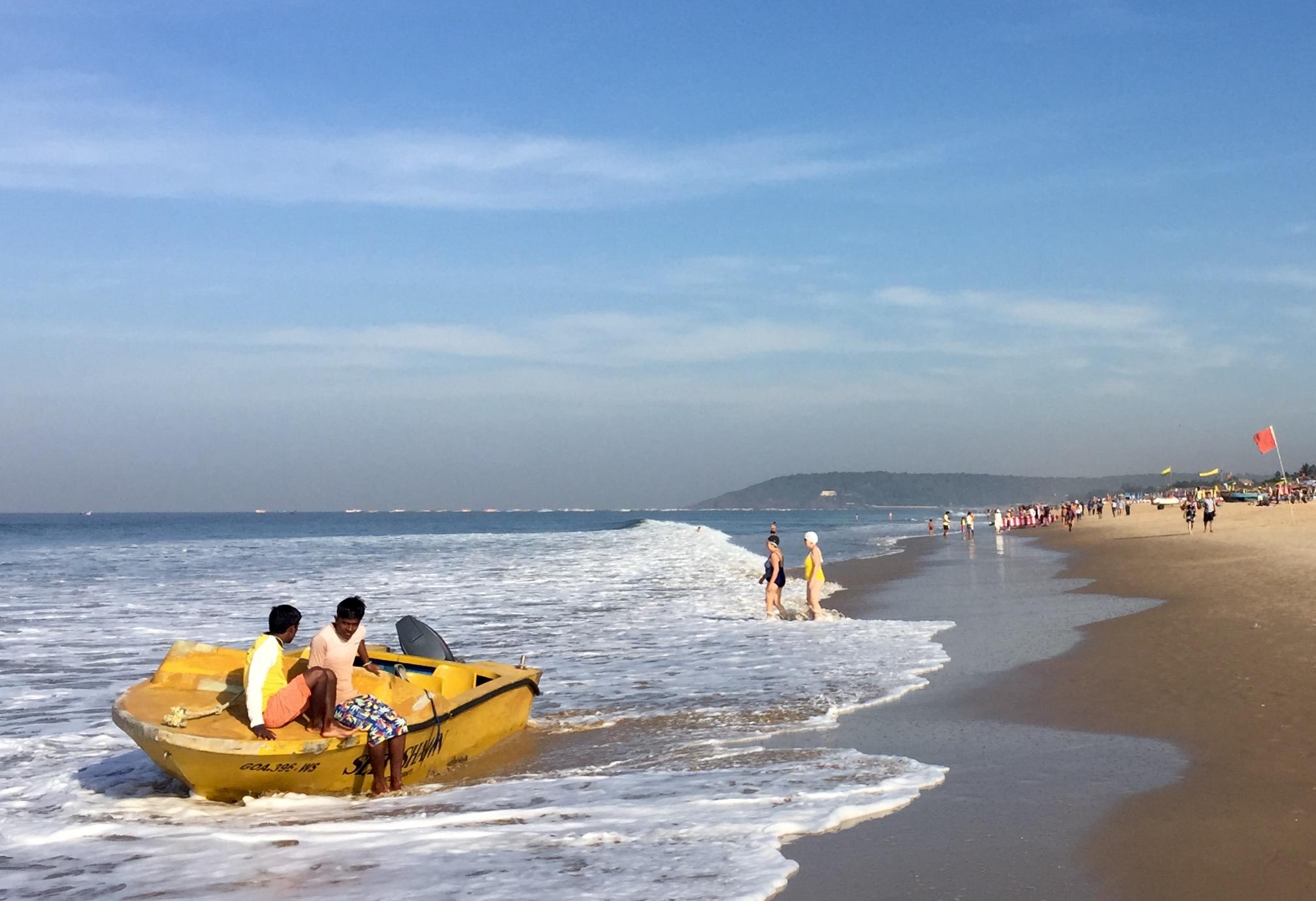Calangute Beach Goa Queen Of Beaches In Goa Appealing India