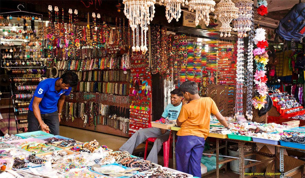 Calangute Market Square - Best Shopping Places in Goa