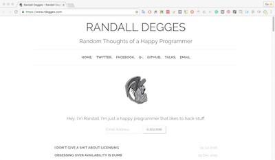 Randall Degges