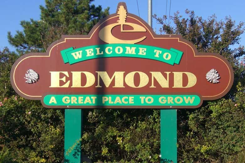 Edmond Hail Storm