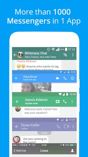 Messages, Text and Video Chat for Free: 2 69 for Android