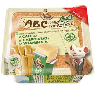 Parmareggio: nuovi snacks dell'ABC della merenda 1 Gastronomia