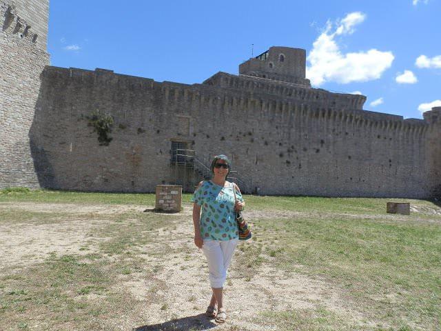 Rocca Maggiore ad Assisi, un tuffo nella storia