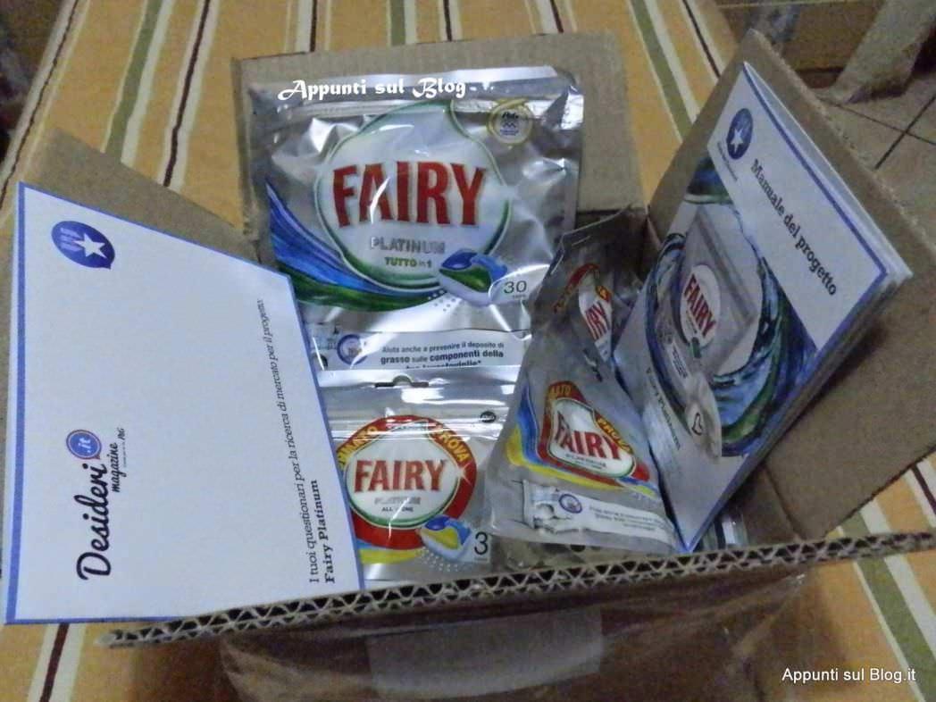 Fairy Platinum caps, lei lava e tu ti diverti