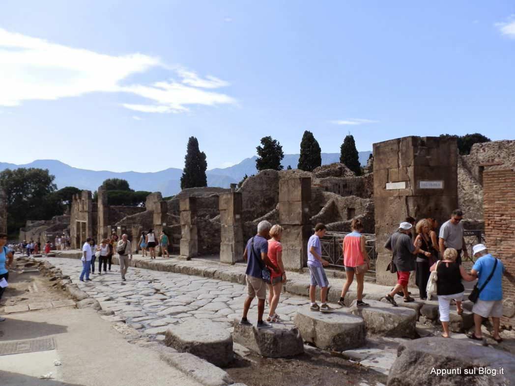 Scavi di Pompei: azienda di famiglia, terme e bellezza