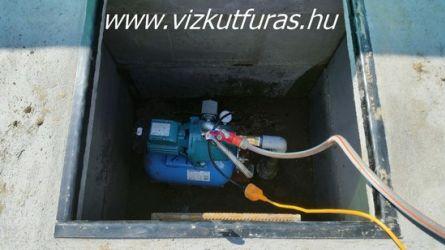 Kútfúrás, kúttisztítás, kútakna készítése garanciával Pest megyében