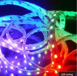Színváltós LED mennyezeti lámpa házilag! Készítsd el otthon!