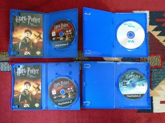 PS2 Harry Potter játékok 1db