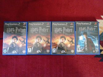 PS2 Harry Potter játékok
