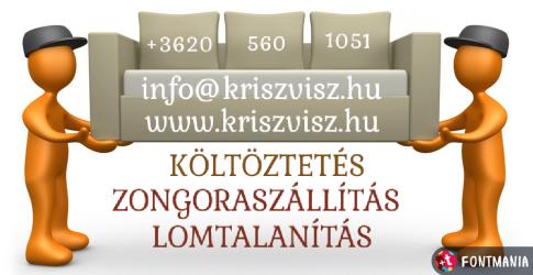 KÖLTÖZTETÉS-LOMTALANÍTÁS-ZONGORASZÁLLÍTÁS!
