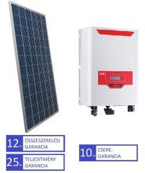 2,1 kW napelem rendszer teljeskörű ügyintézéssel