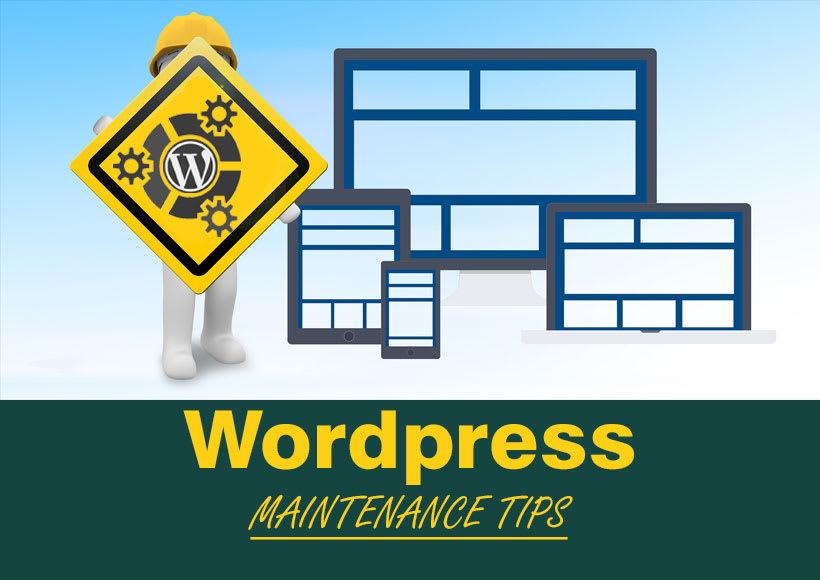 key-wordpress-maintenance-tips