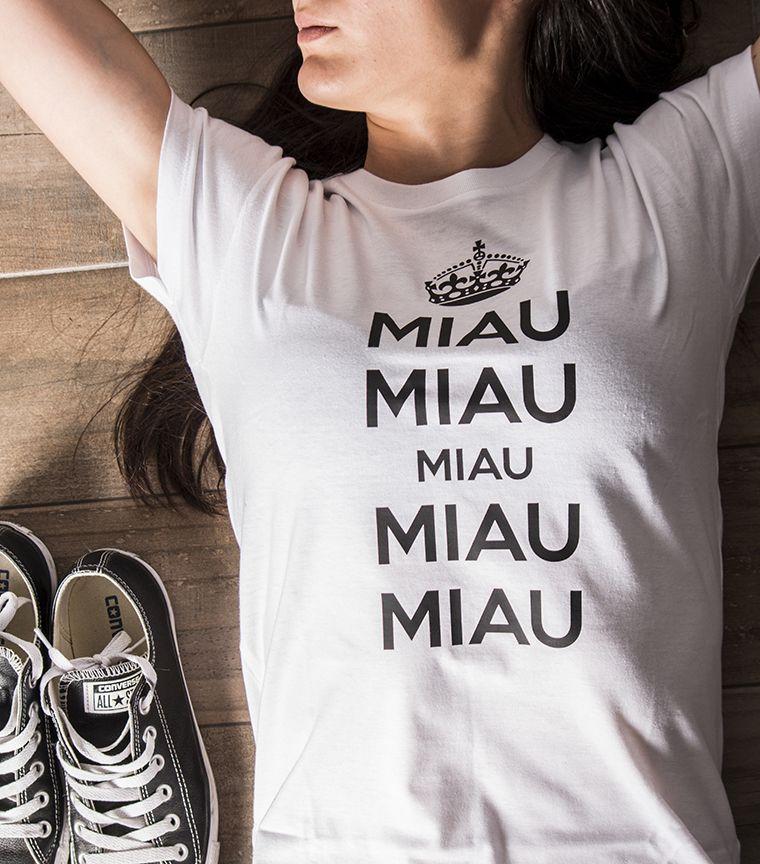 Camiseta Miau Miau