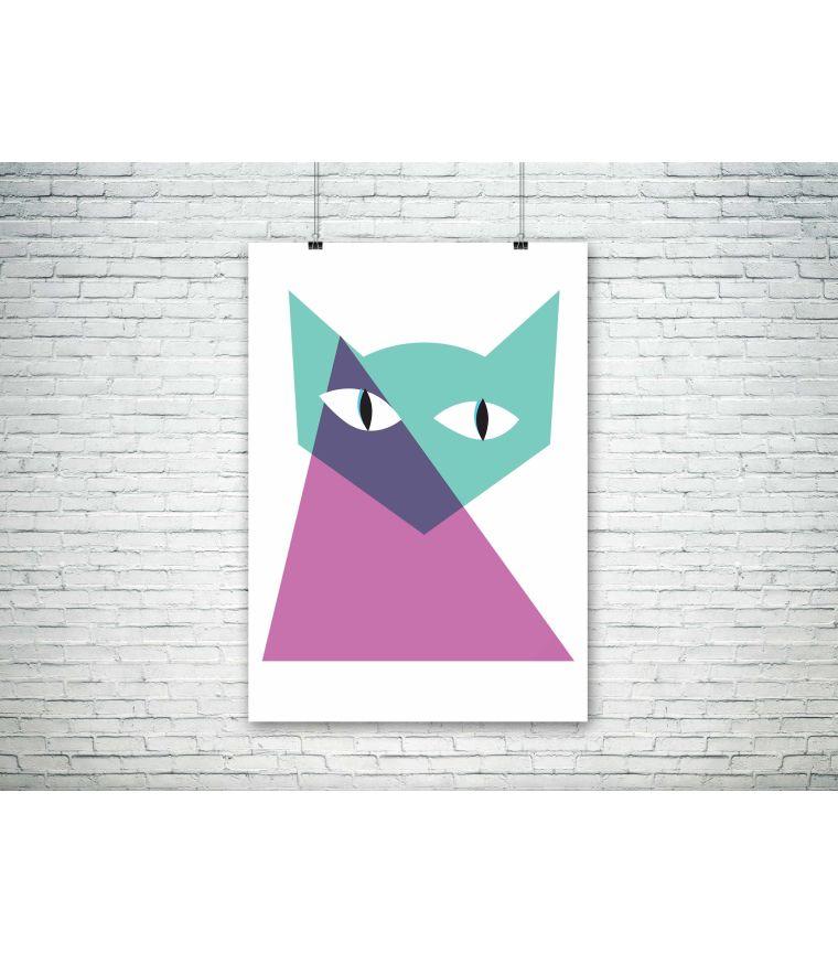 Poster Gata