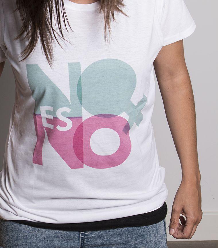 Camiseta No es No
