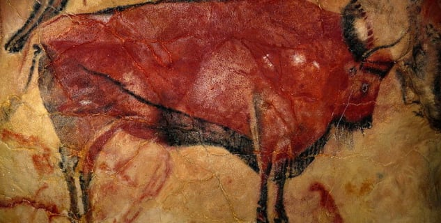 Altamira bizon - http://commons.wikimedia.org/wiki/File:AltamiraBison.jpg