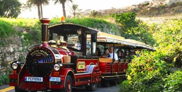Prohlídka města Rabat vlakem - http://www.melitatrains.com/