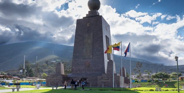 The Ciudad Mitad del Mundo neboli Střed světa - Mitad del Mundo