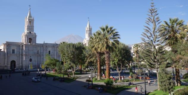 Katedrála v Arequipě -