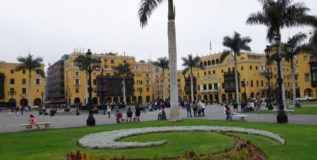 Plaza de Armas v Limě -