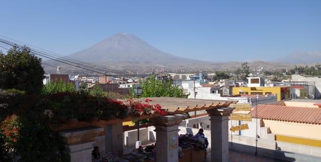 Vulkán El Misti nad Arequipou -