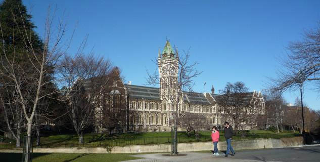 Tower clock, hlavní budova University of Otago -