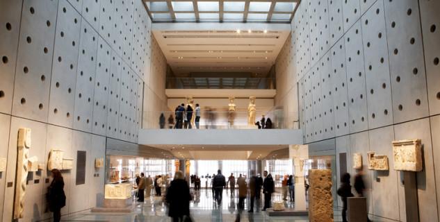 Nové muzeum Akropole - https://www.flickr.com/photos/visitgreecegr/4456257699