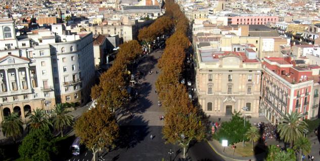 La Rambla - https://www.flickr.com/photos/docman/328264171