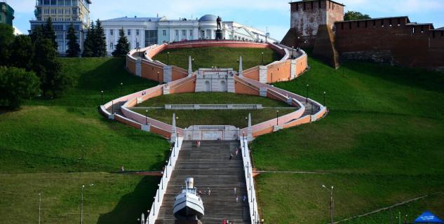 Chkalkovo schodiště - https://www.flickr.com/photos/alextref871/17050594262