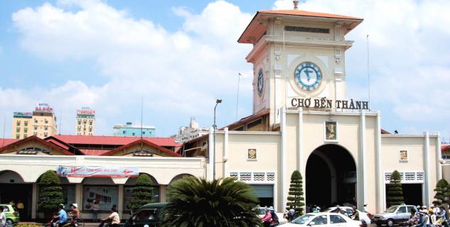 Ben Thanh Market v Saigonu - https://www.flickr.com/photos/buck82/122586143/