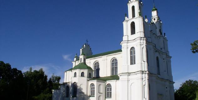 Kostel st. Sophia - https://en.wikipedia.org/wiki/List_of_World_Heritage_Sites_in_Belarus#/media/File:Belarus-Polatsk-Cathedral_of_Sophia-3.jpg