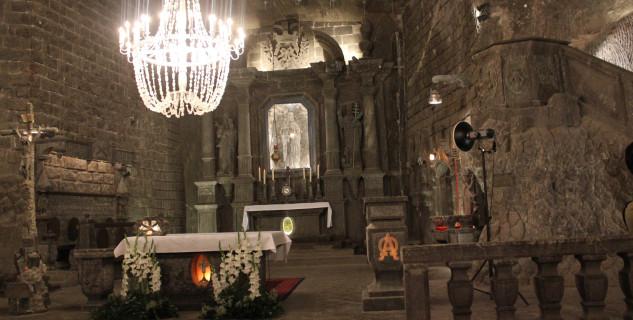 Podzemní kostel v solném dole - https://www.flickr.com/photos/kongharald/14721154470