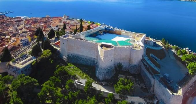 Výhled na pevnost sv. Michala - http://svmihovil.sibenik.hr/
