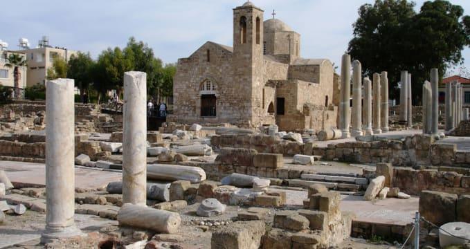 Kostel Panagia Chrysaliniotissa - https://www.flickr.com/photos/cyprustourismch/9509850164/